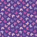 Seamless Hipster Background Butterflies Pink Purple Stock Photo - 58118820