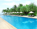 Tropical Beach Resort Hotel Swimming Pool Royalty Free Stock Photo - 58144205