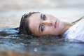 Girl In The Water Stock Photography - 58156782