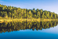Lake And Forest Landscape Stock Photos - 58158663