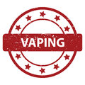 Vaping Stamp Royalty Free Stock Photography - 58160657