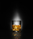Luxury Still Life Of Whisky Glass Royalty Free Stock Image - 58197816