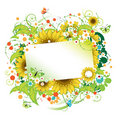 Floral Frame Beautiful Stock Image - 5829721