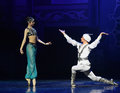 """The Dream Lover- Ballet """"One Thousand And One Nights"""" Royalty Free Stock Photo - 58206475"""