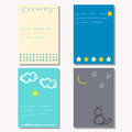 Hand Drawn Doodle Childish Backgrounds Collection With Simple Shapes Stock Image - 58212601