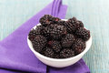 Black Raspberries Stock Photo - 58213960