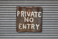 No Entry Sign Stock Images - 58233684