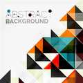 Abstract Geometric Background. Modern Overlapping Stock Image - 58287171