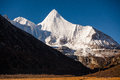 Yangmaiyong Snow Mountain In Aden Royalty Free Stock Images - 58316409