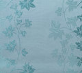 Retro Lace Floral Seamless Pattern Blue Fabric Background Vintage Style Stock Photography - 58331952