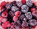 Close Up Of Frozen Mixed Fruit - Berries - Red Currant, Cranberry, Raspberry, Blackberry, Bilberry, Blueberry, Black Currant Stock Images - 58338524