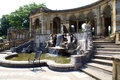 Hever Castle Fountain & Colonnade In Hever, Edenbridge, Kent, England, Europe Royalty Free Stock Images - 58341599