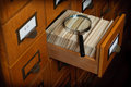 Library Card Catalog Search Concept Royalty Free Stock Images - 58348249