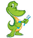 Crocodile Royalty Free Stock Image - 58349586