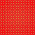 Golden Seamless Chinese Cross Square Line Geometry Window Tracery Pattern Background. Royalty Free Stock Photos - 58355978