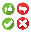 Vector Check Mark Icons Stock Photography - 58368182