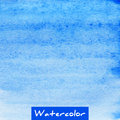 Blue Watercolor Hand Drawn Textured Background Royalty Free Stock Photo - 58371055