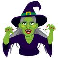 Old Evil Scary Witch Stock Photography - 58378212
