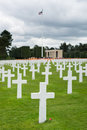 American Cemetery At Normandy Royalty Free Stock Photos - 58388068