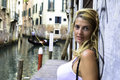 Young Woman In Venice Italy Stock Photo - 58391280