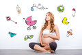 Waiting For A Baby. Royalty Free Stock Photography - 58415707