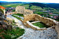 Rupea (Reps) Fortress Stock Image - 58435461