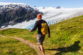 Hike In Exit Glacier Royalty Free Stock Images - 58469829