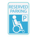 Handicap Or Wheelchair Person Icon, Sign Reserved Parking Royalty Free Stock Images - 58472259