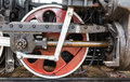 Wheel Detail Of A Steam Train Locomotive Stock Images - 58488264