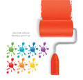 Paint Roll Stock Image - 58494511