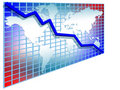 3d Line Chart Stock Photography - 5856162