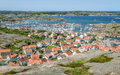 The Town Of Hunnebostrand, Sweden Royalty Free Stock Images - 58502259