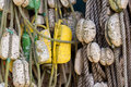 Ropes And Buoys Royalty Free Stock Photos - 58534918