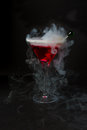 Red Martini Stock Images - 58540004
