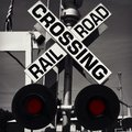 Railroad Crossing Sign Royalty Free Stock Photography - 58546367