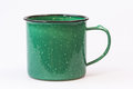 Camping Style Metal Coffee Cup Royalty Free Stock Images - 58548429
