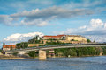 Fortress By The Danube River Stock Photo - 58575450