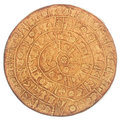Phaistos Disc Stock Photos - 58578483