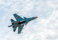 New Russian Strike Fighter Sukhoi Su-34 Stock Image - 58589141