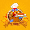 Turkey Holds Pie Stock Images - 58591364