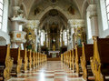 Inside Of A Church Royalty Free Stock Photography - 5860837