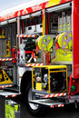 Fire Engine Unpack Stock Photography - 5861182