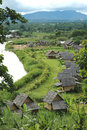 The Village Of Pai Royalty Free Stock Photo - 5863065