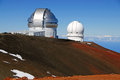 Observatory On Mauna Kea, Hawaii State High Point Royalty Free Stock Image - 58612416