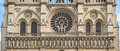 Central Part Of Cathedral Notre Dame De Paris Western Facade Royalty Free Stock Photo - 58643655