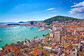 Split Waterfront And Marjan Hill View Royalty Free Stock Photography - 58644667