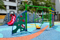 Colorful Playground Royalty Free Stock Photography - 58647177