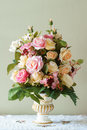 Bouquet Flower In The Vase Royalty Free Stock Images - 58652079