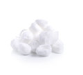 Cotton Wool On A White  Background Royalty Free Stock Images - 58657769