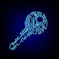 Security Concept. Circuit Board Key Vector Illustration. Royalty Free Stock Photography - 58686047